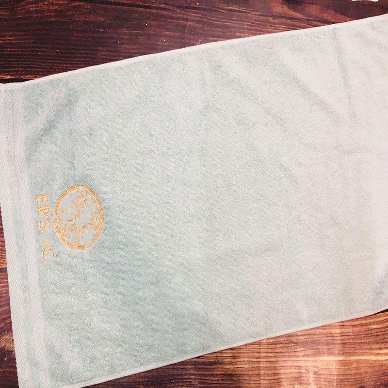 Classic Quick Dry Unisex Towel Fashion Three Pieces Pattern Men Women Bath Towel Vintage Letter Embroidery Lover Towel