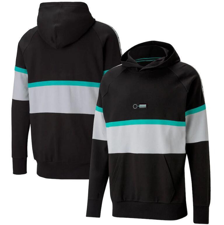 2021 F1 Motorsports Mode Pull à capuchon à capuche Moto Costume de course Cross-country Cyclisme Jersey Jersey Jersey Pull peut être personnalisé