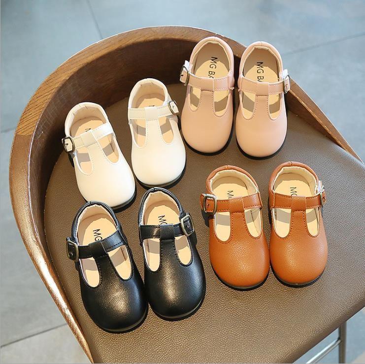 Çocuklar Kızlar Prenses Ayakkabı Sonbahar Çocuk Kız Çiçek Ayakkabı Moda Bebek Çocuk Kaymaz Rahat Ayakkabılar Moda