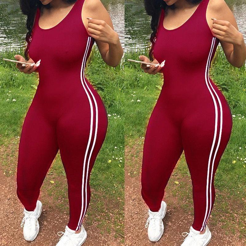 새로운 Bodycon 바지 긴 점프 수이 여성 Macacao 파티 rompers jumpsuits 민소매 바지 레트로 Strapless Playsuits 대형
