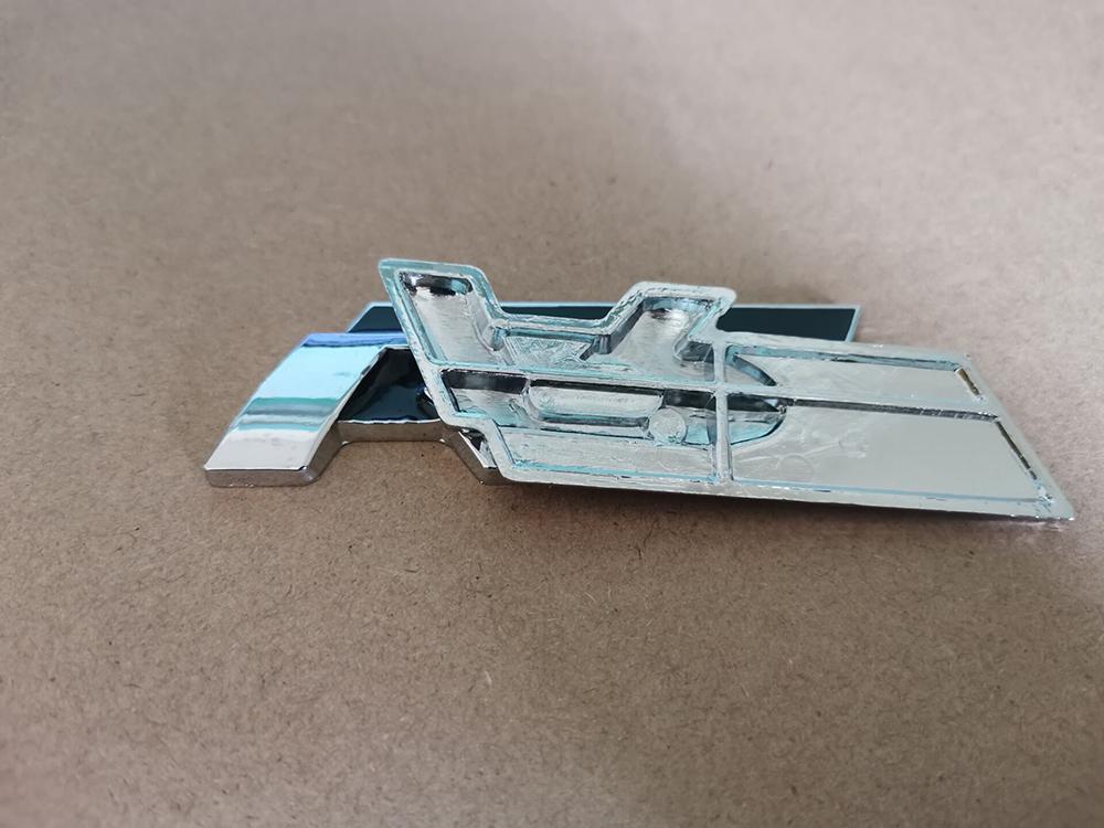 Çıkartması Sticker Araba Oto Metal 3D RLLine Amblem R Çizgi Rozeti Beetle Polo CC Touareg Tiguan Scirocco Için