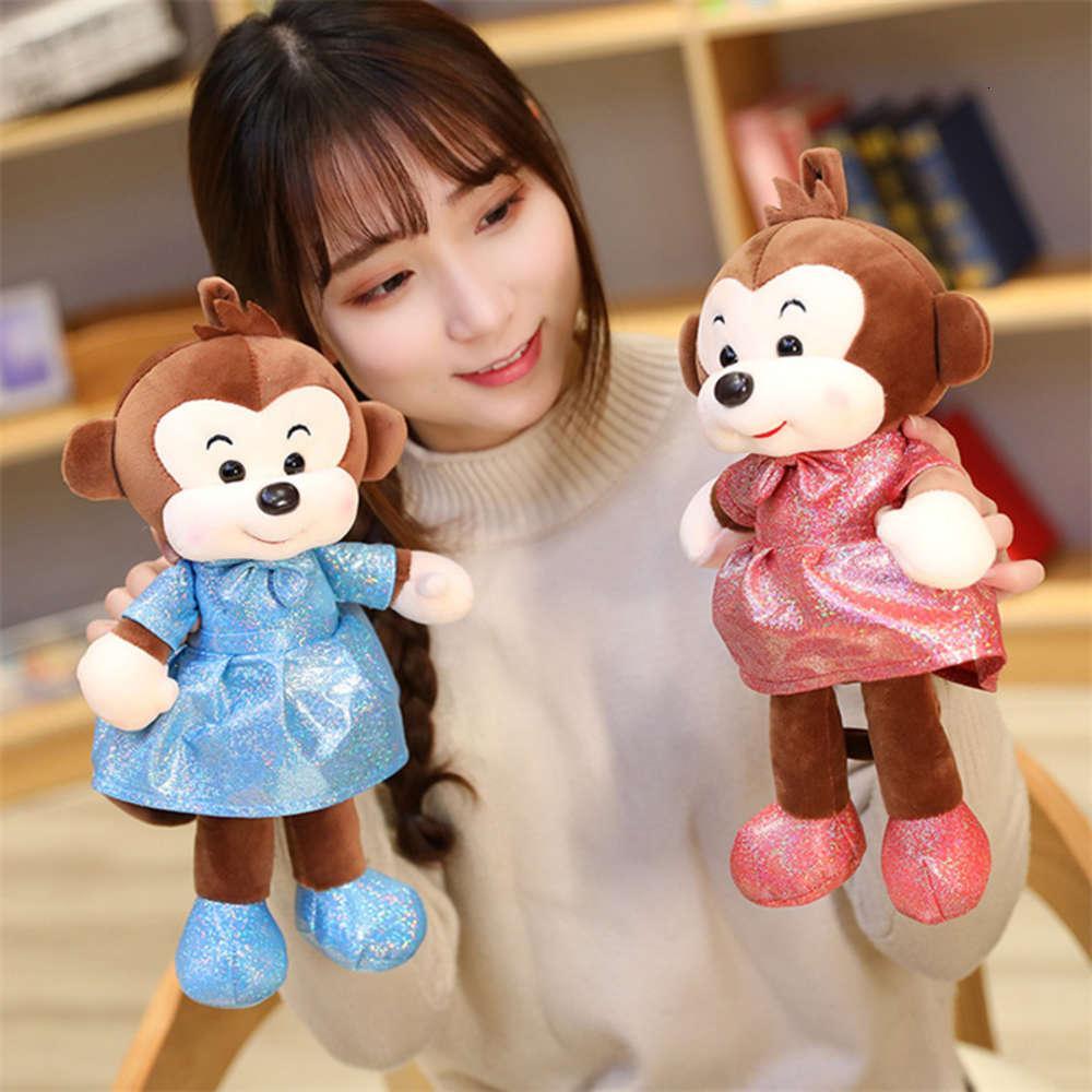 Mono de los niños juguetes de felpa linda muñecas pequeñas Little Activiti Lanzamiento regalos