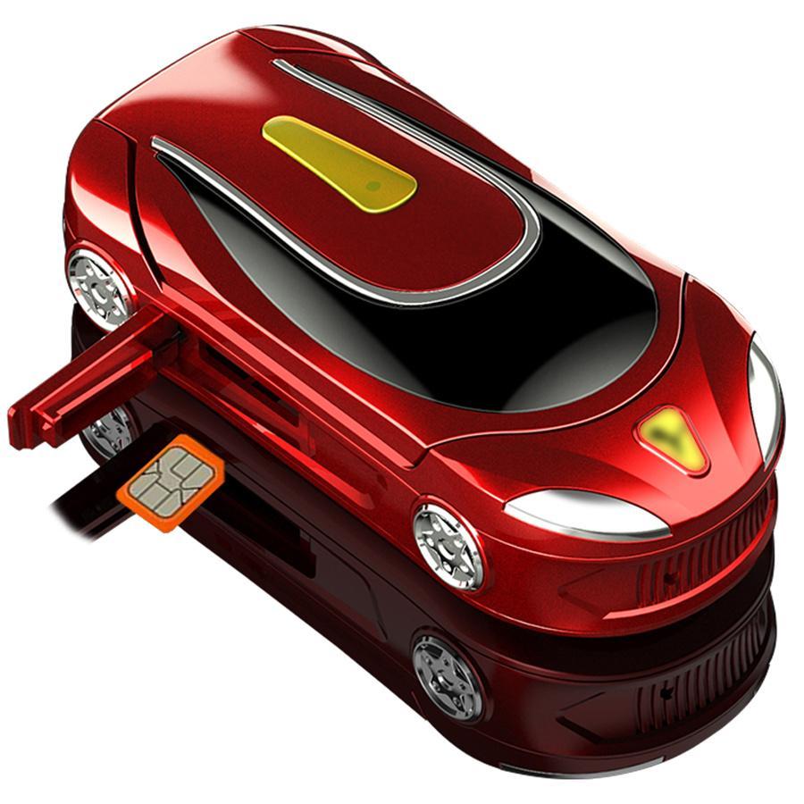 "Newest Ulcool F18 Mini Clamshell Mobile Phone 1.08"" Car Key Single Sim Wireless Bluetooth Dialer Handsfree Mini Small Flip Cell Phone"