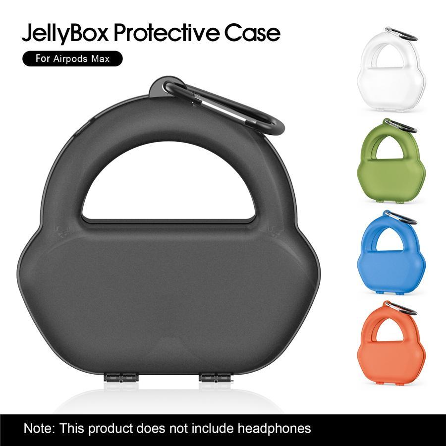 Nueva funda para auriculares y más populares portátil, resistente a la presión y auriculares para iPhone de múltiples colores de la cubierta protectora dedicada