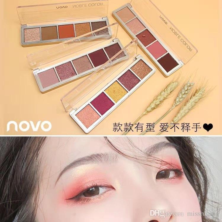 Novo 5 Renkli Göz Farı İpeksi Sürpriz Göz Farı Paleti Keyfini Çıkarın