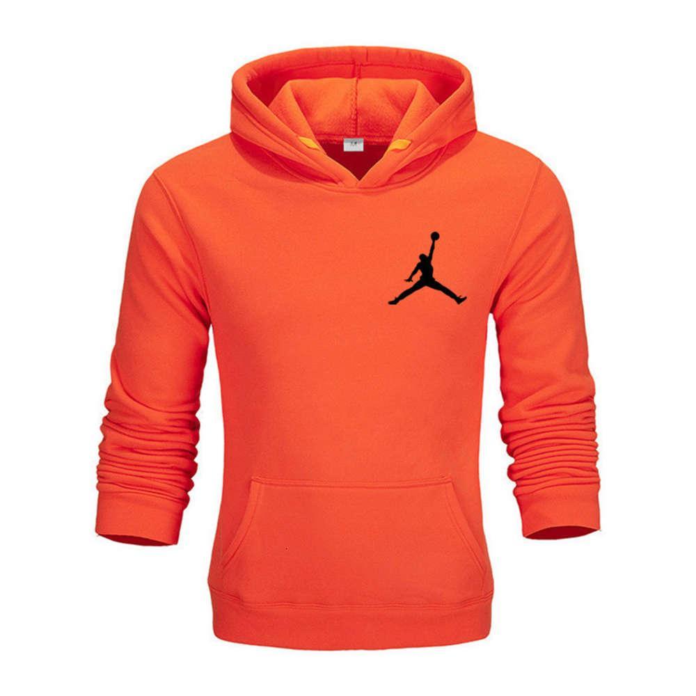 2021 Chaopai A Jumpman? Баскетбол с капюшоном Sport Pullover Hoodie Мужской свитер