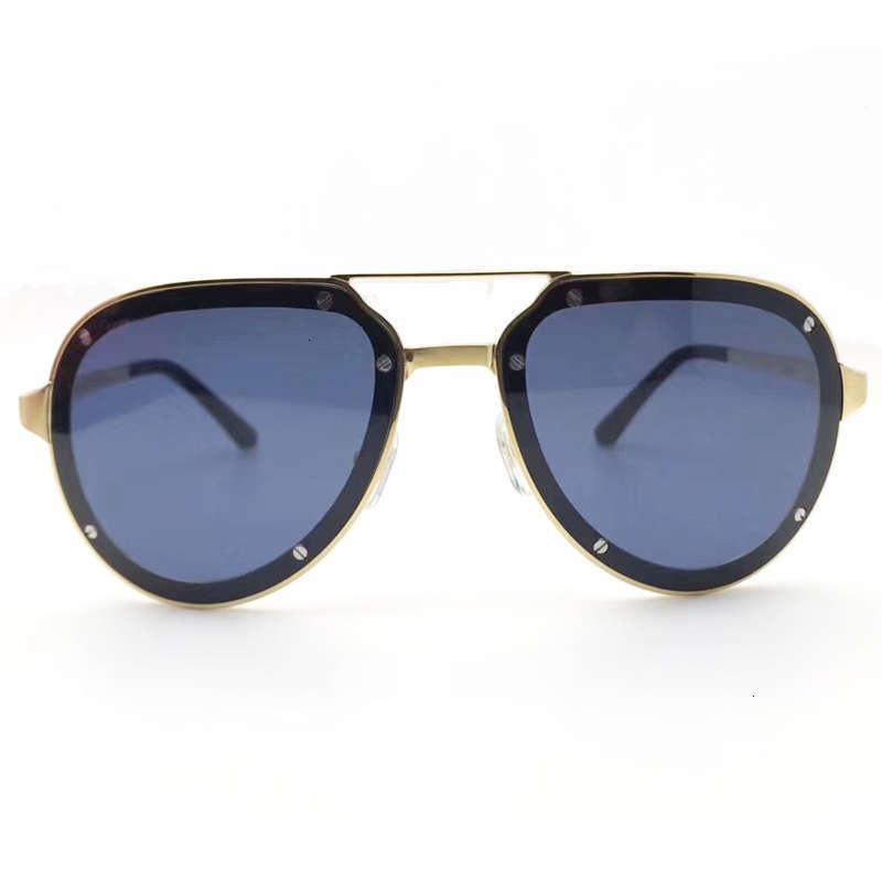21S Gentlemen 2020 роскошный титановый старинный картер солнцезащитные очки ретро квадратные очки дизайнерские оттенки линзы de s
