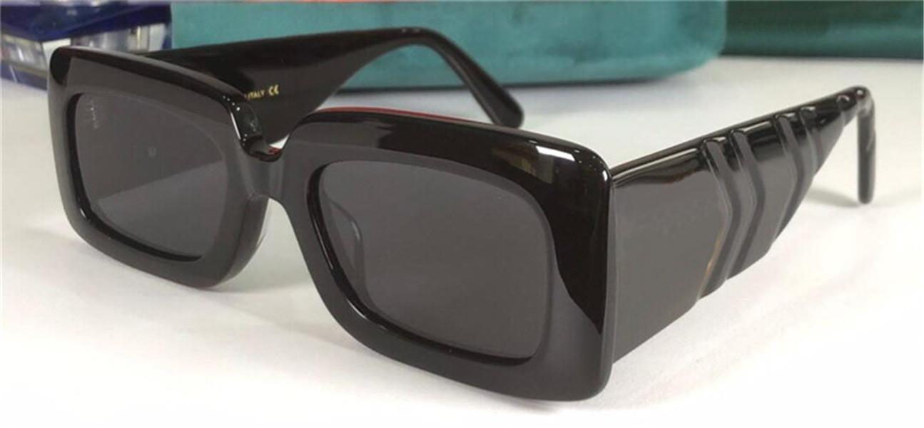 New fashion popular design sunglasses 0811S square frame special design temples simple and avant-garde style top quality uv400 lens eyewear