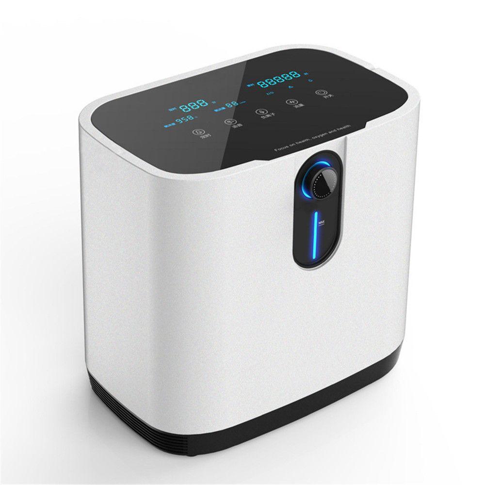 1L- 7L الطبية عالية الجودة مولد الأكسجين مصنع المنزل المحمولة الأكسجين المكثف كفاءة آلة الأكسجين المنزلية