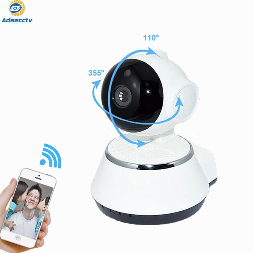 IP WIFI Cámara de seguridad P2P infrarroja infrarrojos Pan-Tilt con vigilancia de acceso remoto Monitor de bebé AS-IP503DV