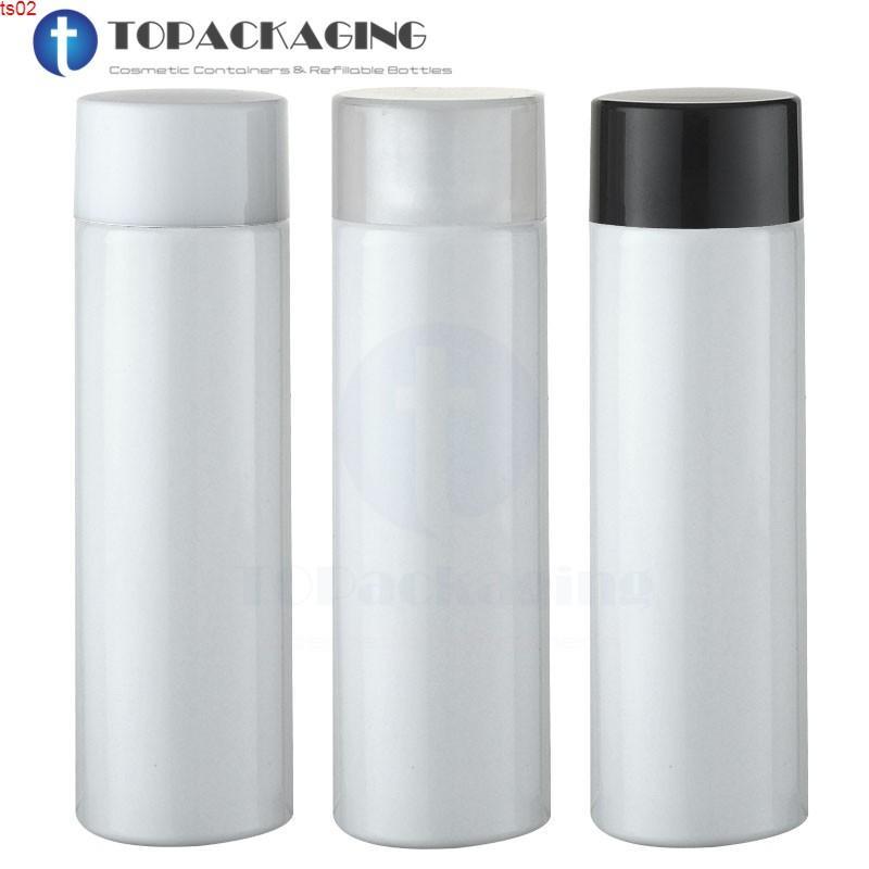 30 шт. * 100 мл винтовой бутылки крышки, белый PET пластиковый косметический лосьон контейнер, шампунь суб-розлива, эссенциальное масло бутылки