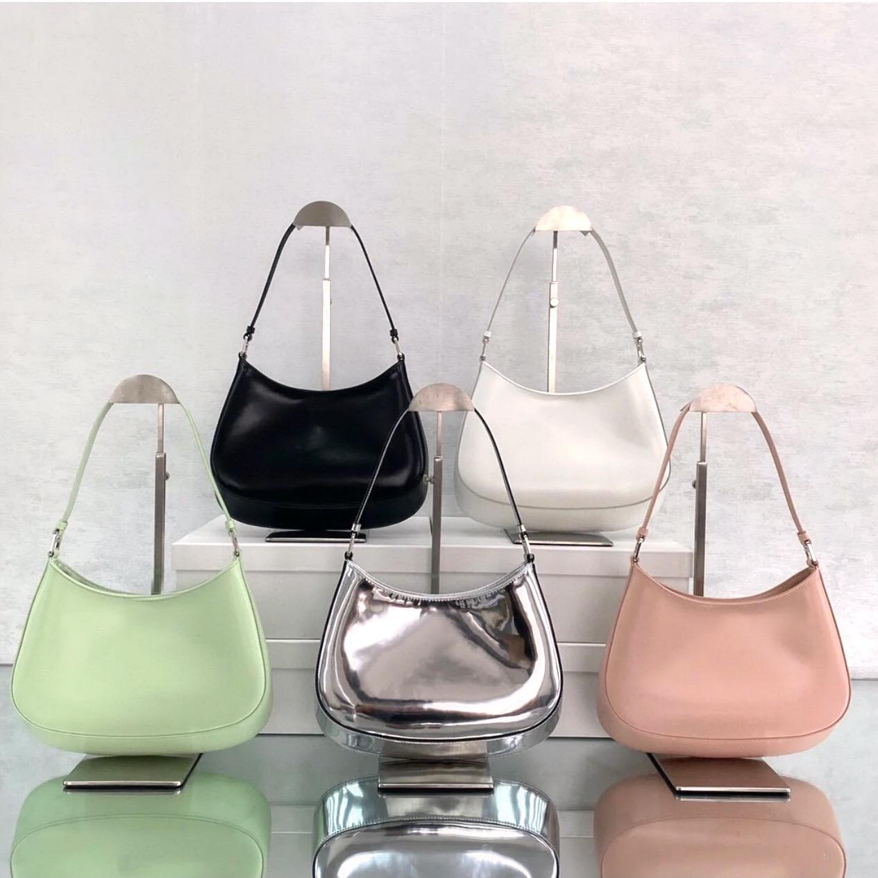 Classic Leather handbags hobo crossbody bag shoulder bags for women fashion bags lady chains handbags cowhide hobo chain purse messenger bag