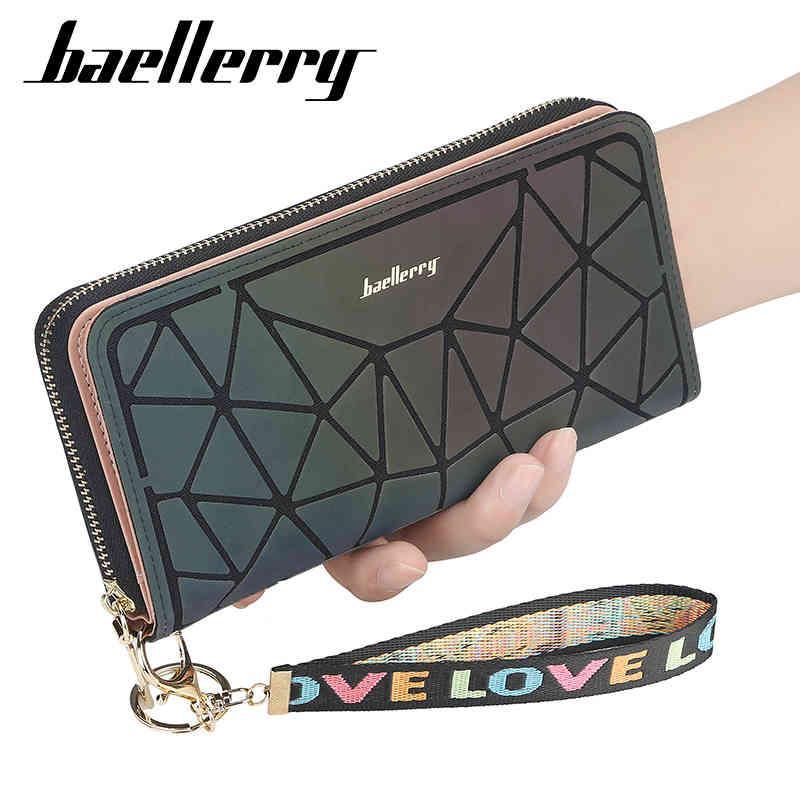 Portefeuille de concepteur Baellerry 2021 Portefeuilles de luxe coréenne pour femmes et sacs à main Pochette de téléphone en cuir Slim Designers Mesdames