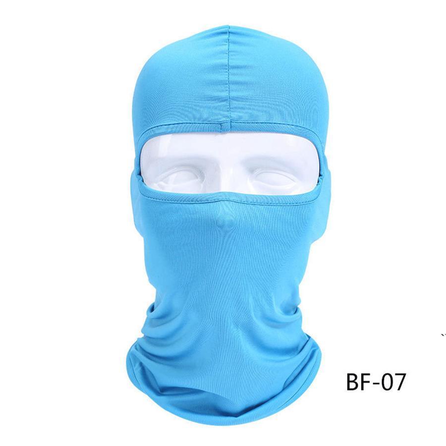 Otoño Invierno Cara de cara completa Balaclava Ski Motocicleta Mascarilla Ciclismo Cara Ninja Skiboard Casco Cuello Calentador Gaiter Tube Beaset Masks AHC6473