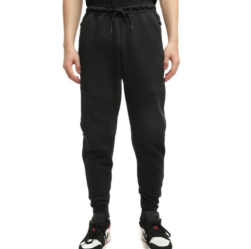 2021 미국 스포츠 조깅 흑색 기술 양털 바지 망 멍청한 고품질 공간 코튼 러닝 바닥 아시아 크기 M-XXL