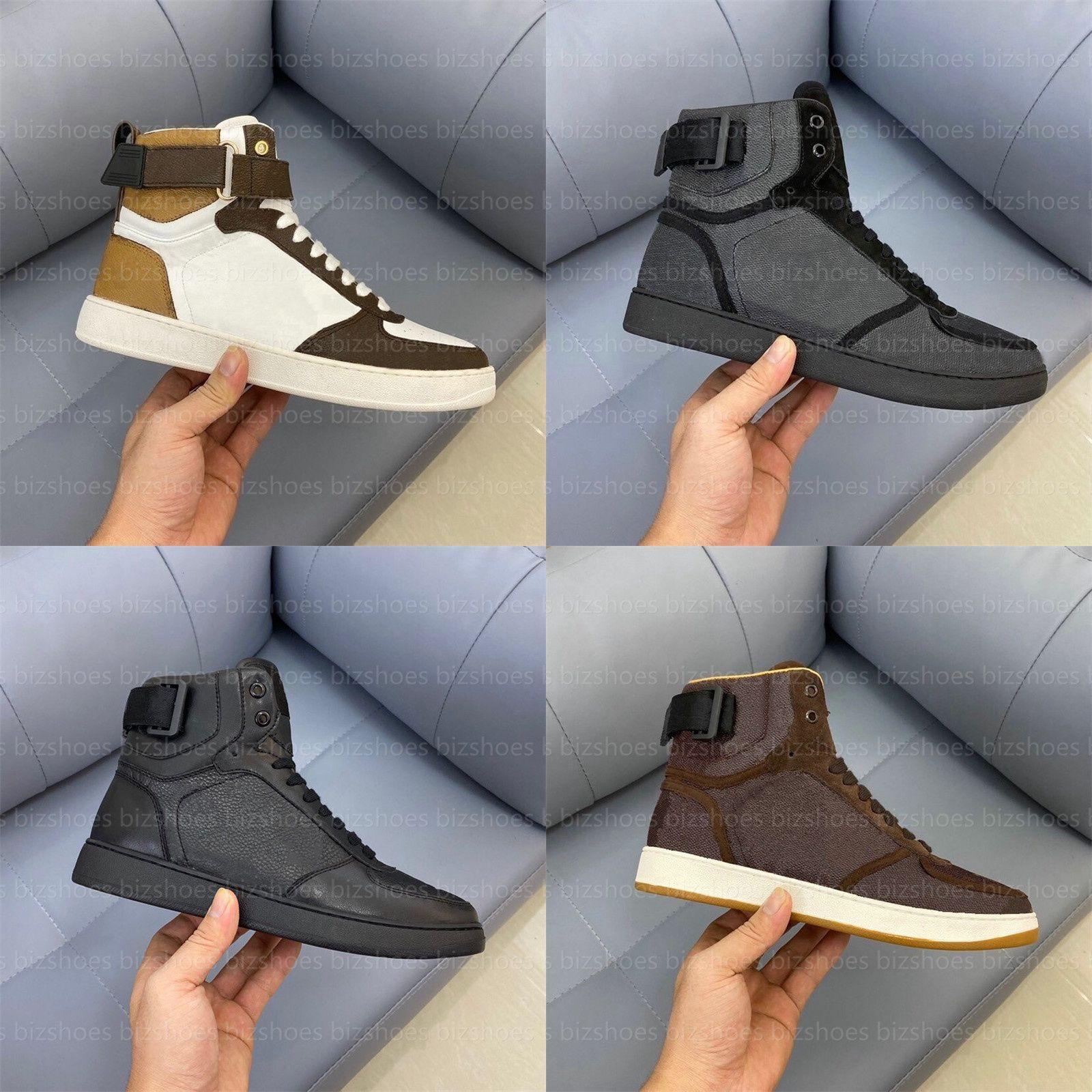 Rivoli sneaker boot clássico hi-top sapato de couro preto sapatos sapatos corredor snekaers