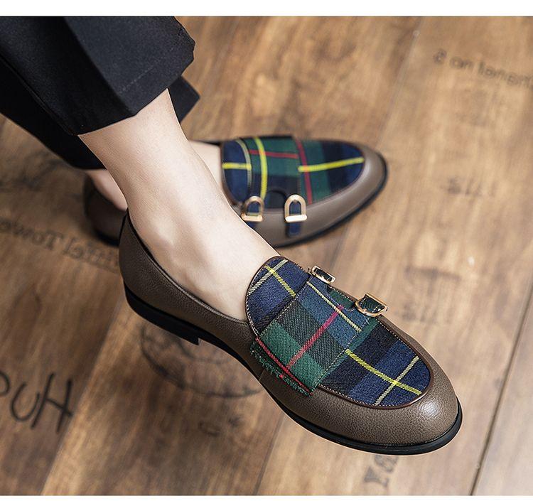 Nuevo estilo de cocodrilo Patrón de cuero zapatos de boda para hombres italianos zapatos de vestir de lujo hombres de negocios moda zapatos de fiesta formales M525