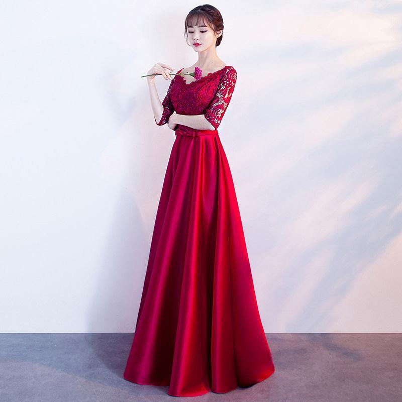 Формальный синий цвет кружева плюс размер вечерние платья вечеринка элегантные платья выпускного вечера