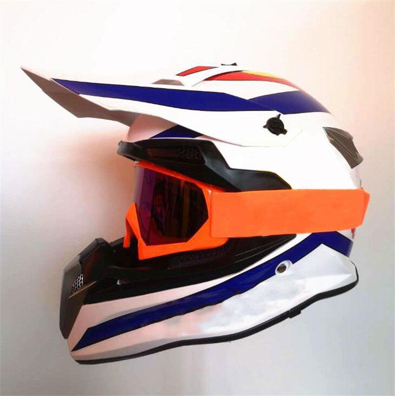 2021 Motocicleta Casco completo Exportar carretera Correr Casco de carreras completo Casco de lente doble cálido