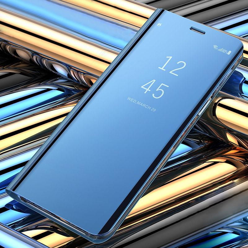 حالة الهاتف المرآة الذكية ل Apple iPhone 11 Pro Max الدائمة حالات فون XR XS Max X 11 2019 XI غطاء حماية الإسكان