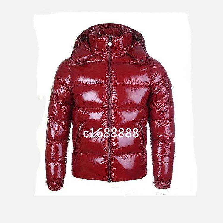 FashionTop Quality Mens Inverno Down Jacket Giacche con cappuccio Uomo Donna Coppie Coppie Parka Cappotto Cappotto Spessore Cappotto nero Black Red Fashion Pies superati Taglia S-3XL # 660