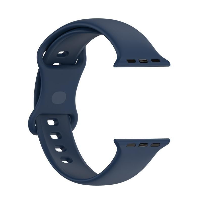 Silicone Replacement Bands Straps For Apple Watch 7 Wristband Bracelet 100PCS/LOT