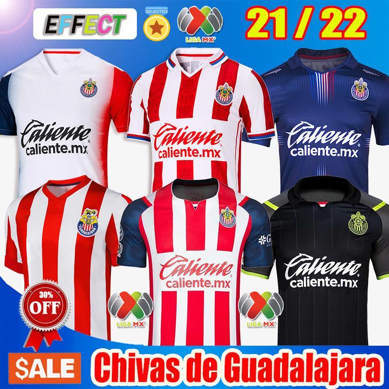 2021 2122 Chivas Guadalajara 115e année Accueil TROISIÈME SOCCER JERSEYS 20 21 22 UNAM XOLOS CLUB Tijuana Atlas Leon Camiseta de futbol Jersey Kits Shirts de football