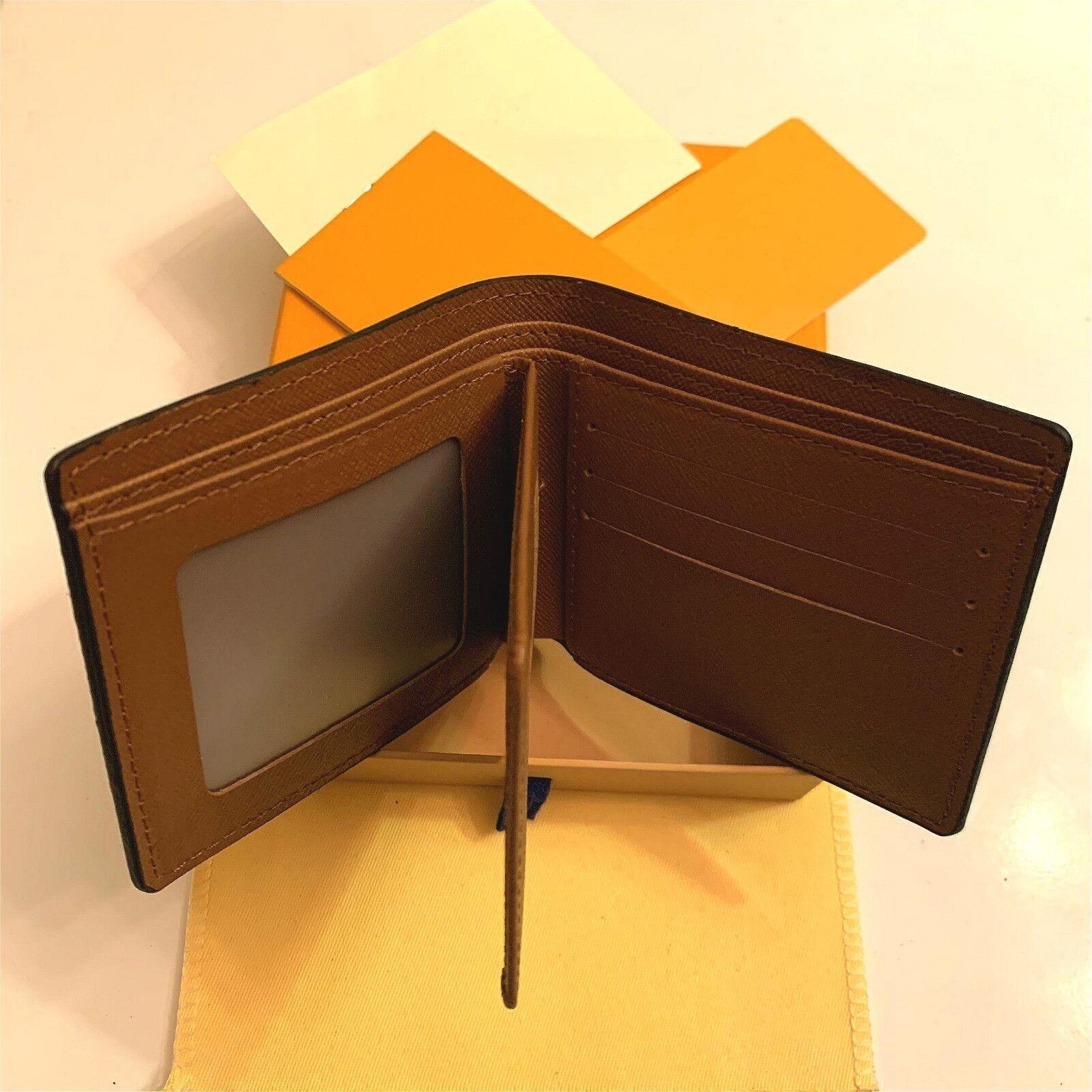 2021 جودة عالية l billfold محفظة باريس منقوشة نمط المصممين رجل محفظة المرأة محفظة الراقية s الفاخرة محافظ حقيبة مع صندوق حقيبة الغبار