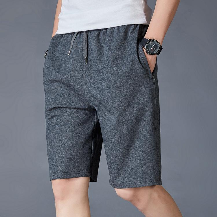 Pantalones cortos casuales de hombre masculino más Pantalones Super Fat Pantalones Súper Figuras