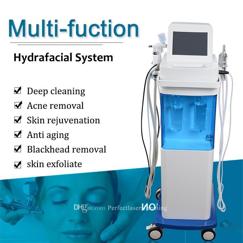 Многофункциональная дермабразия лицевой кислород с распылением кожи чистой машины кислородный реактивный омоложение кислород впрыск против старения Hidráulica