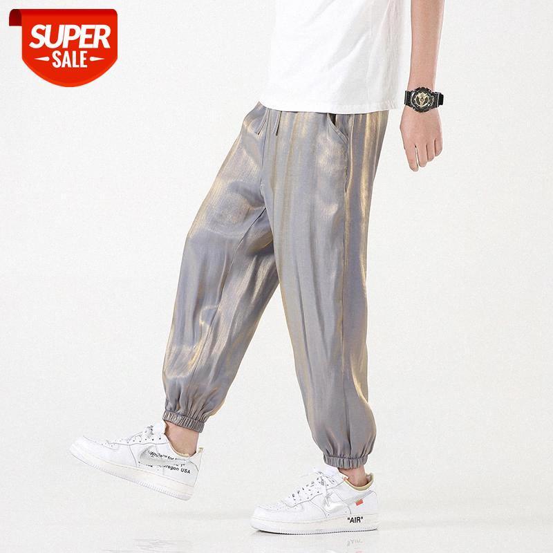 Роскошные спортивные штаны мужчины уличные мужские повседневные брюки ха # DD2V