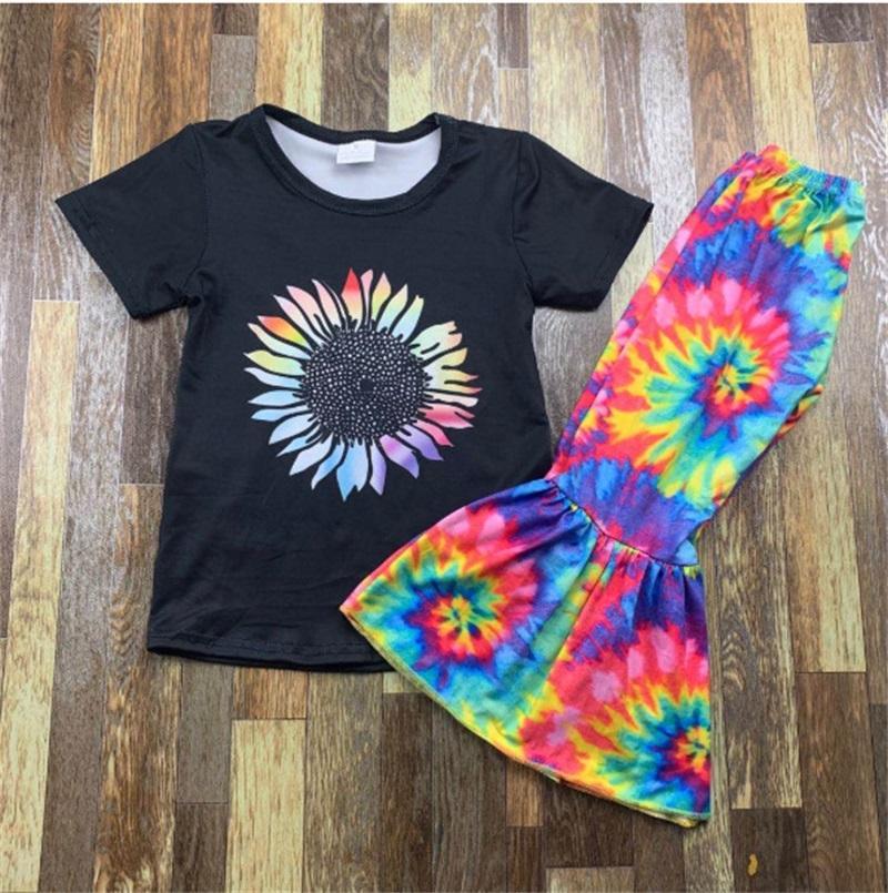 Sıcak Satış Kızlar Yaz Giysileri Set Çan Alt Kıyafetler Çocuk Tasarımcı Giyim Kız Set Toddler Bebek Kıyafetleri Butyue Yaz Suit 429 Y2