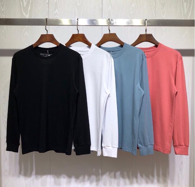 Moda İlkbahar Sonbahar Kaykay Streetwear Dağ Manzarası Erkek Kadın Hoodies Tişörtü Giyim Tops Tee Uzun Kollu Rahat Tops Tops