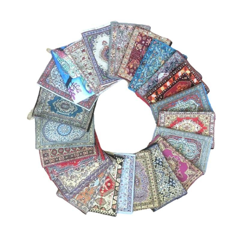 Türkisch traditioneller Teppichdesign Böhmischen handliche Lagerung Make-up Reißverschluss Umschlag Taschen Orientalische Weihnachtsgeschenke Neues Jahr 15x20 cm