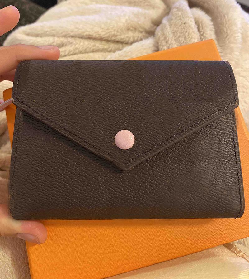 디자이너 지갑 도매 레이디 여러 가지 빛깔의 동전 지갑 짧은 지갑 다채로운 카드 홀더 원래 상자 여성 클래식 지퍼 포켓 카드 홀더