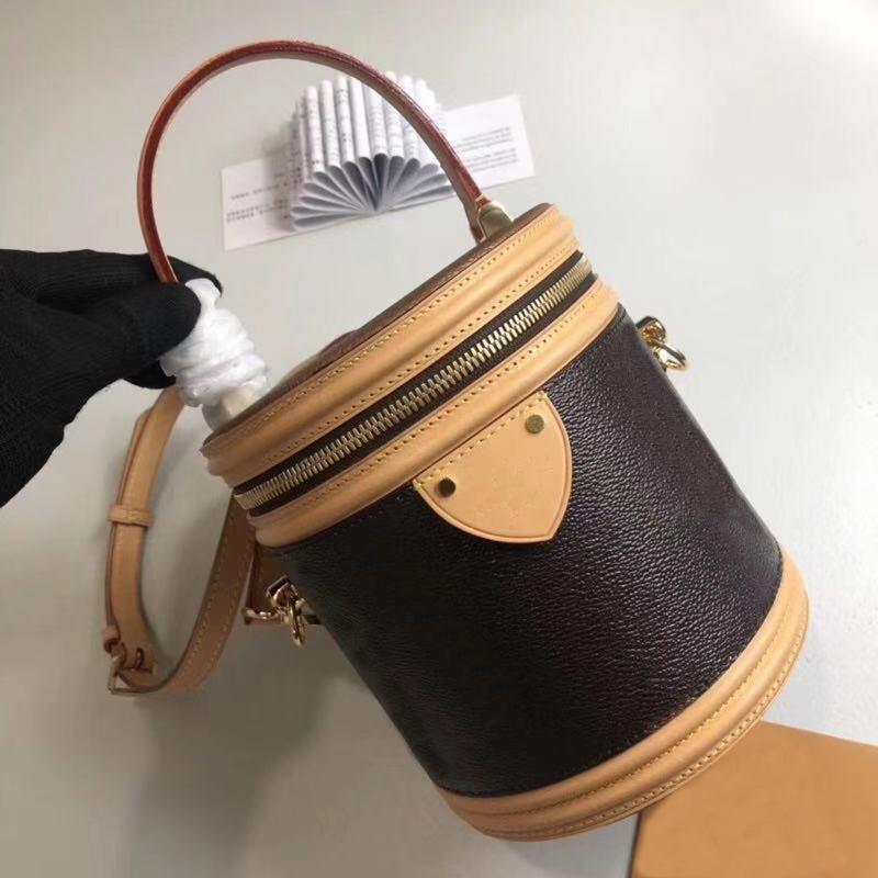 مصمم أكياس فاخرة المرأة حقيقية الجلود الكلاسيكية prombyopic حقائب borsess كان petit noe النمذجة crossbody دلو حقيبة أعلى أعلى جودة حقيبة الكتف