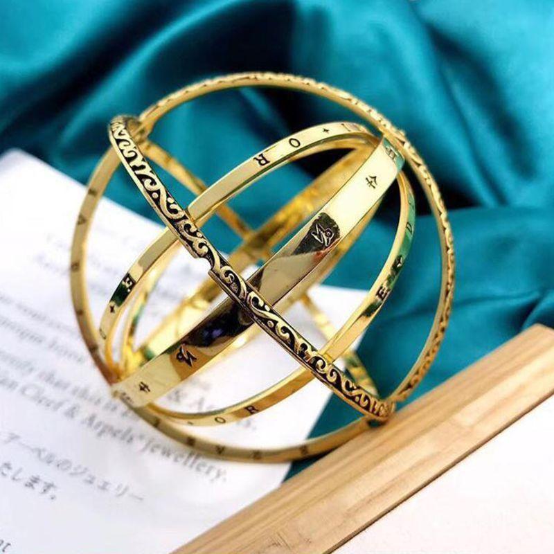 NOUVEAU Mode Femmes Hommes Bracelet Bracelets Couple Lover Shape Baller Forme Réglable Bracelets Bijoux Valentine Vacances Anniversaire Anniversaire Cadeaux d'anniversaire