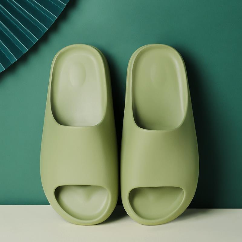 2021New Unsex Indoor Komfortable weiche Hausschuhe Männer frauen rutschfeste badezimmer schuhe flache eva dicke sohle gleitet frauen sandalen