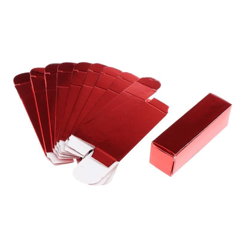 Инструменты для бровей Трафареты 10x Ремесло подарочная бумажная коробка для губных парфюмерных складных упаковочных коробок