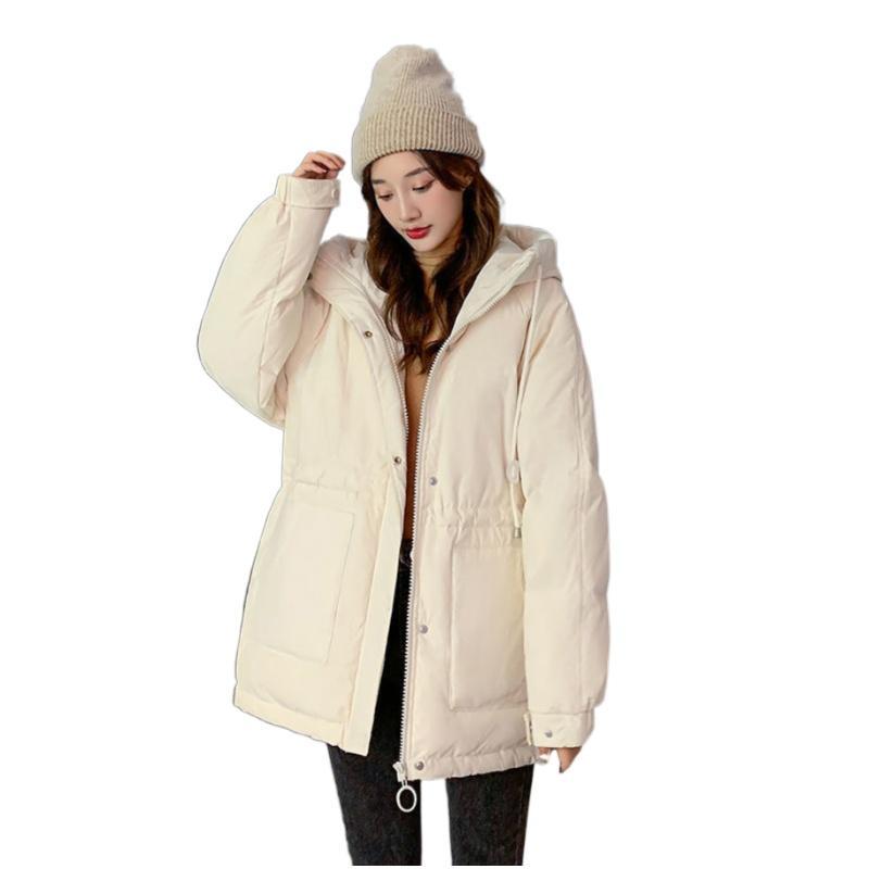 High Quality Winter Short Parka Jacket Women Fashion Hooded Clothing Casual Warm Coat