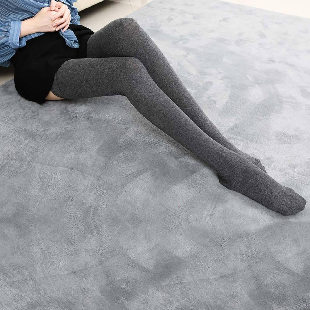 8TNew Socks Donne Coscia di cotone alta sopra le calze del ginocchio per ragazze da donna 2021 calda 80cm super lungo calza media sexy media