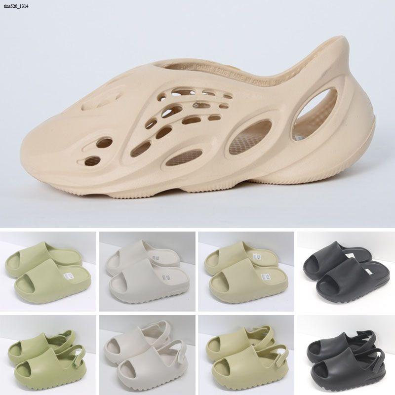 Hommes pantoufles sandales enfants sandales été plage pantoufle mousse pelliculaire trou coulisseurs sandal sandal hommes femmes chaussures bébé garçon et fille jeunesse enfants entraîneurs