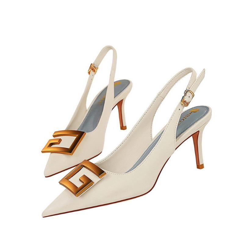 Сандалии PQECFS Большой размер 34-43 Высокое Качество Летние Мода Женщины Сплошные каблуки 3 Цвета