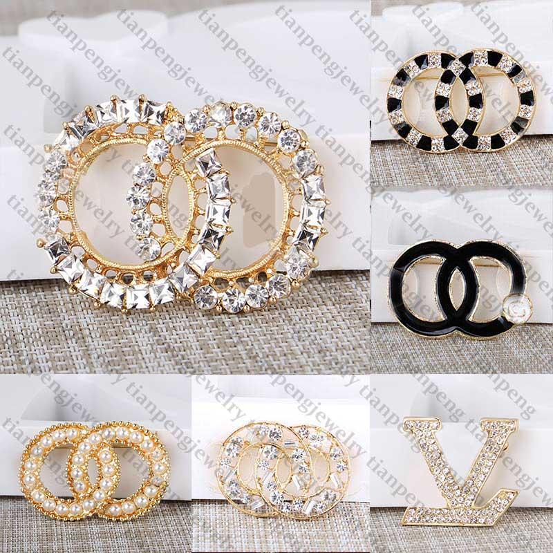 새로운 쥬얼리 디자이너 브로치 유명한 편지 다이아몬드 브로치 핀 술 여자 브로치 패션 장식 장식 특별 제공