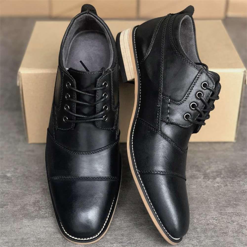 Diseñador Oxfords Dress Shoes Luxury Men's Ocio de moda Zapatos planos Gentleman Party Business Vestido de negocios Slip on Merofers Zapatos Buena calidad