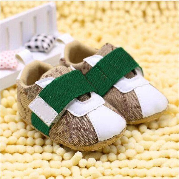 Baby Boys Girls Tooss Детские противоскользящие кроссовки мокасины 0-18 м Bebe мягкая с мягкой спичечной кроваткой обувь новорожденного младенца первые ходунки