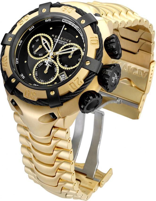 Saatı Cıvata Thunderbolt Erkekler Model 21346 Erkek İzle Kuvars Montre Homme Relogio yenilmez relojes Invicto Originales