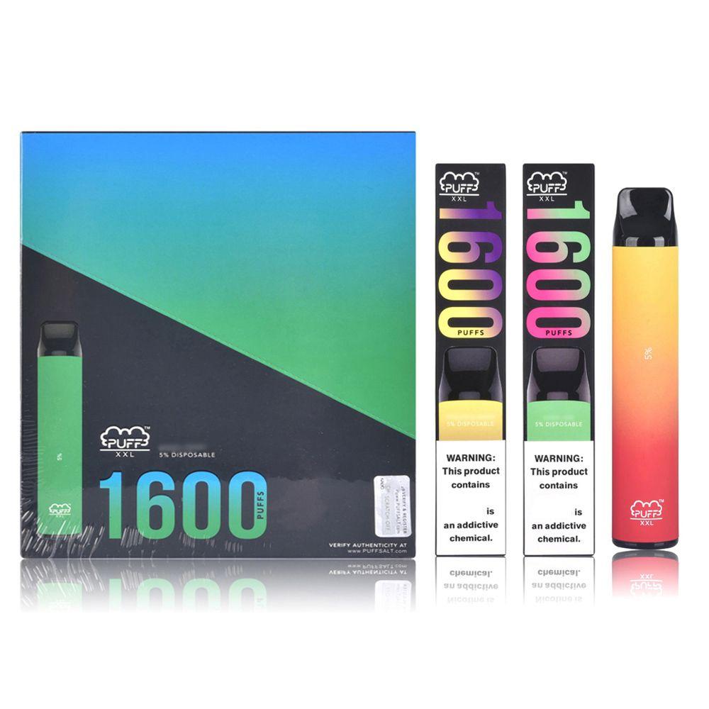 E Atomizzatore liquido 1000mAh Vape Pen Sfuff XXL 6ml Misurabile E sigarette e sigarette VAPE PAN PODS dispositivo puffbar kit di avviamento
