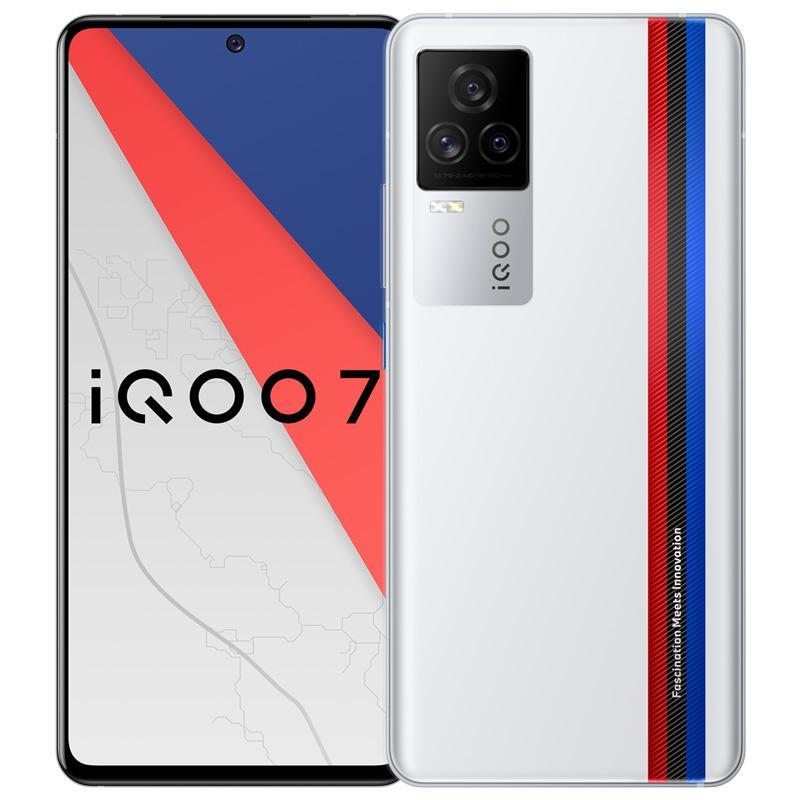 "Original vivo iqoo 7 5g Handy 12 GB RAM 256GB ROM Snapdragon 888 48.0mp NFC Android 6.62 ""Amoled Bildschirm Fingerabdruck-ID Gesichtszellen Telefon"
