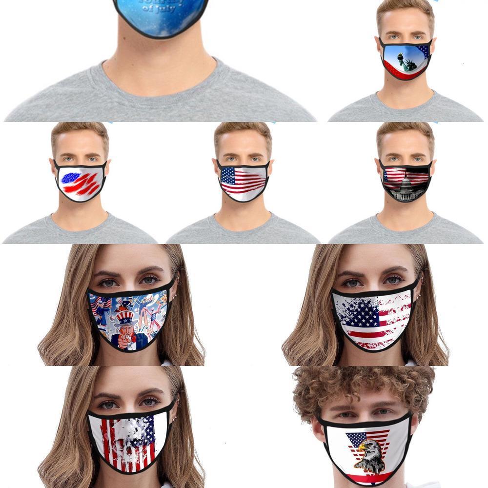 Хлопковые печатные маски Моющийся мультфильм дизайнер 3D мода маски рота PM2.5 пылезащитный и 28V5